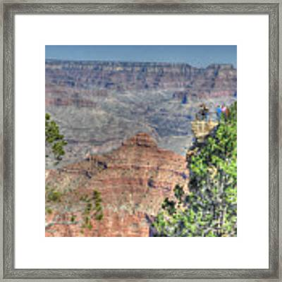 Grand Canyon Overlook Framed Print by David Armstrong