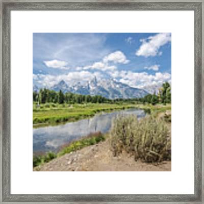 Grand Teton View No.1 Framed Print by Margaret Pitcher