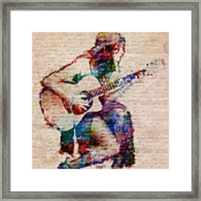 Gypsy Serenade Framed Print by Nikki Smith