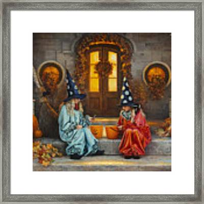Halloween Sweetness Framed Print by Greg Olsen
