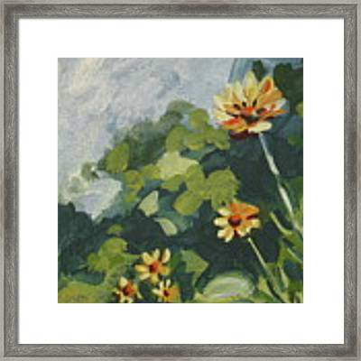 Happy Day Framed Print by Outre Art  Natalie Eisen