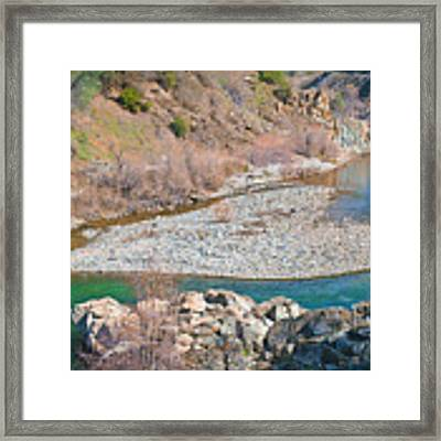 Heart Of Gold Framed Print by Sherri Meyer