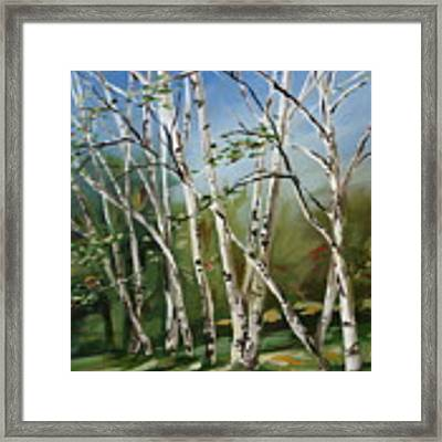 Holding On To Summer Framed Print by Outre Art  Natalie Eisen
