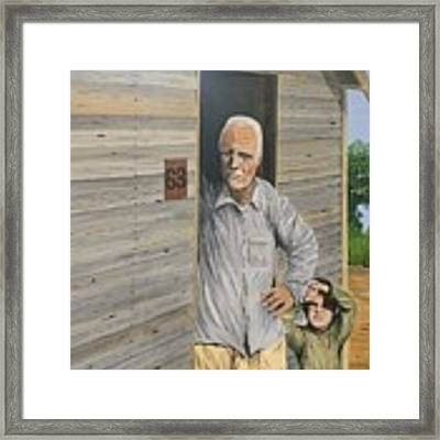Hooper Ranch #63 Framed Print by Kevin Daly