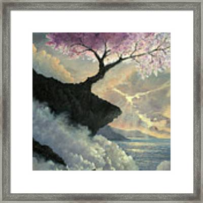 Hope Inclines Framed Print by Rosario Piazza