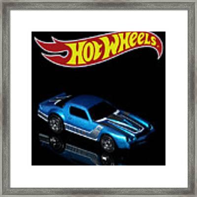 Hot Wheels 67 Pontiac Firebird 400-3 Framed Print by James Sage
