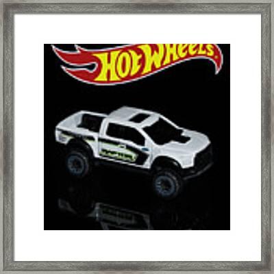 Hot Wheels Ford F-150 Raptor Framed Print by James Sage