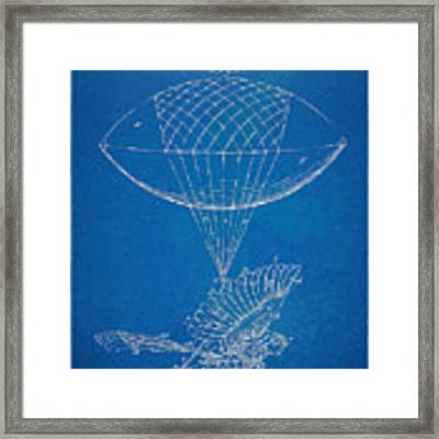 Icarus Airborn Patent Artwork Framed Print