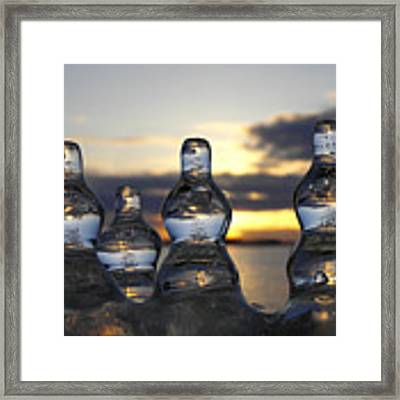 Ice And Water 3 Framed Print by Sami Tiainen