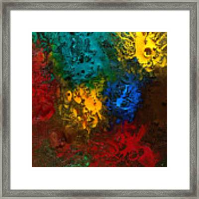 Icy Abstract 10 Framed Print by Sami Tiainen