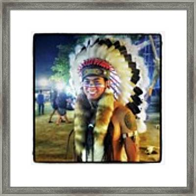 Indians Invade Thailand. Cowboys Too Framed Print by Mr Photojimsf