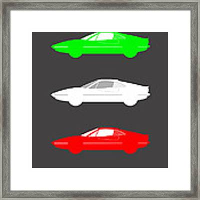 Italian Icon - Ferrari 308 Framed Print by Mark Rogan