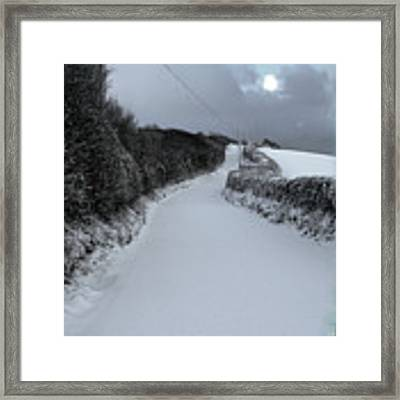 Jack Frost Framed Print by Michael Taggart