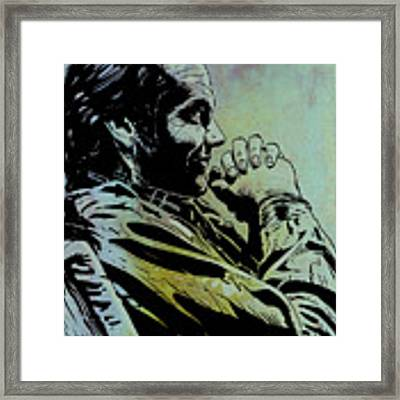 Jack Nicholson Framed Print