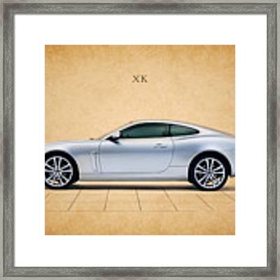 Jaguar Xk Framed Print by Mark Rogan