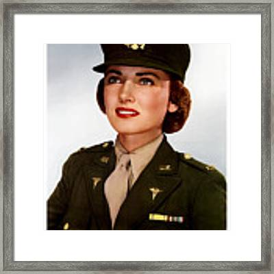 Join The Army Nurse Corps Framed Print