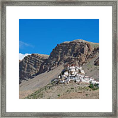 Key Monastery Framed Print by Yew Kwang