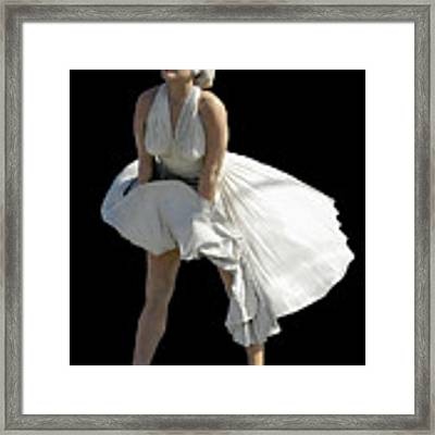 Key West Marilyn - Special Edition Framed Print by Bob Slitzan