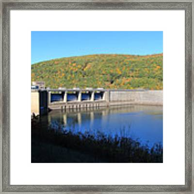 Kinzua Dam Framed Print by Rick Morgan