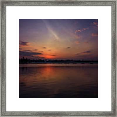 Last Glowing Ember Framed Print by Viviana Nadowski