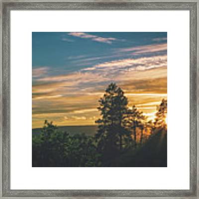 Last Rays Of Sunday Framed Print by Jason Coward