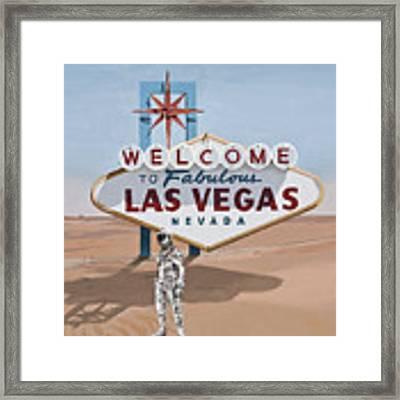 Leaving Las Vegas Framed Print by Scott Listfield
