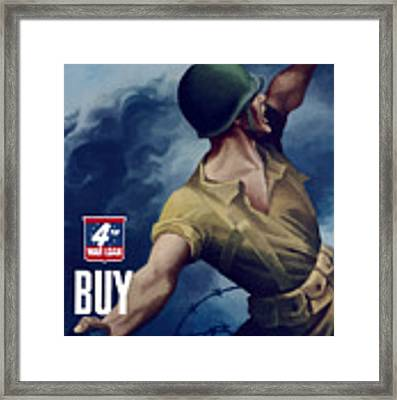 Let Em Have It - Buy Extra Bonds Framed Print