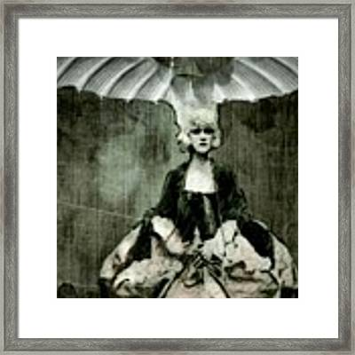 Let Them Eat Cake Framed Print by Delight Worthyn