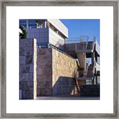 Lines, Shadows And Textures Framed Print by Samuel M Purvis III