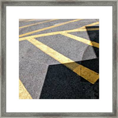 Lot Lines Framed Print by Eric Lake