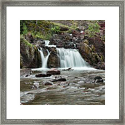 Lower Red Rocks Falls Framed Print by Jemmy Archer