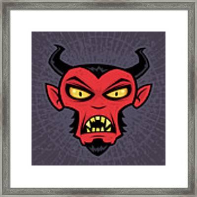 Mad Devil Framed Print