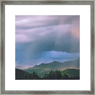 Magical Monsoon Light Framed Print by Jason Coward