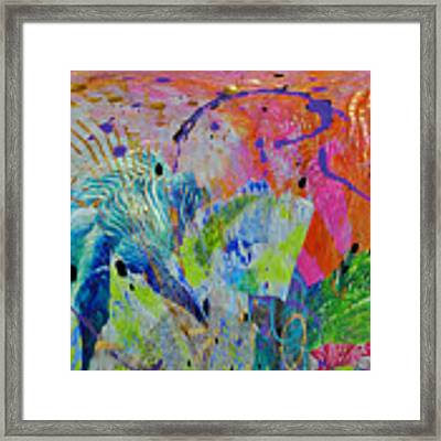 Moody Blues2 Framed Print by Kate Word