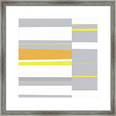 Mosaic Single 4 Framed Print by Menega Sabidussi