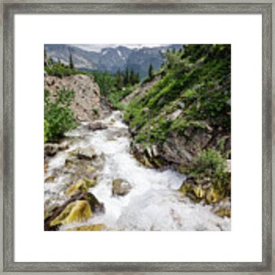 Mountain River Framed Print by Margaret Pitcher