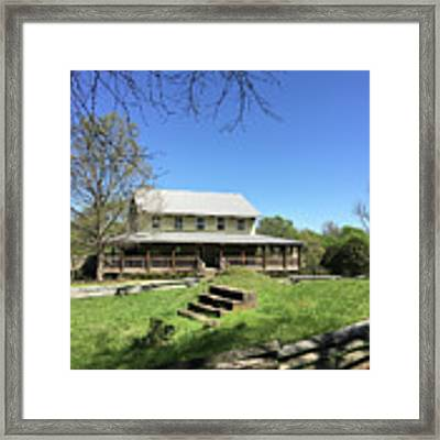 Musgrove Mill Sc State Historic Site Framed Print by Kelly Hazel