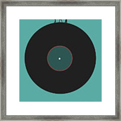 Music Is An Outburst Of The Soul Poster Framed Print