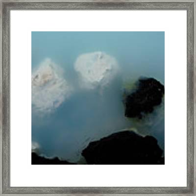 Mystical Island - Healing Waters Framed Print by Matthew Wolf