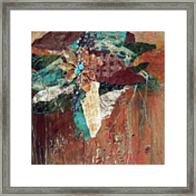 Nature's Display Framed Print by Phyllis Howard
