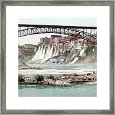 Niagara River, C1900.  Framed Print by Granger