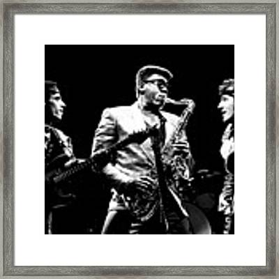Nils The Big Man And The Boss Framed Print