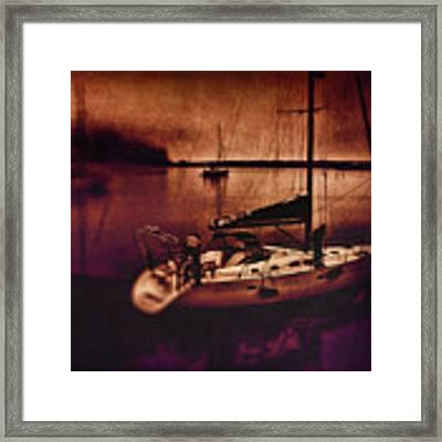 No Yesterdays On The Road Framed Print by Douglas MooreZart