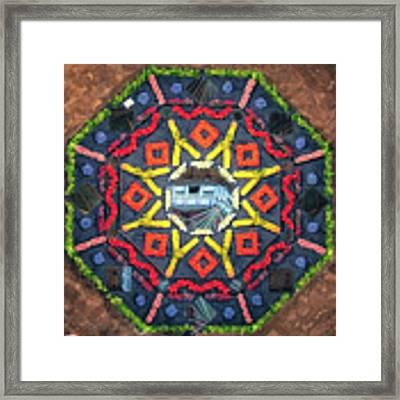 Octagon Framed Print by James Billings