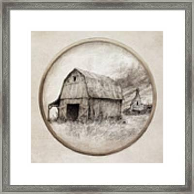 Old Barn Framed Print by Eric Fan