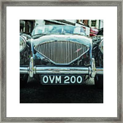 Old English Framed Print by Nick Bywater