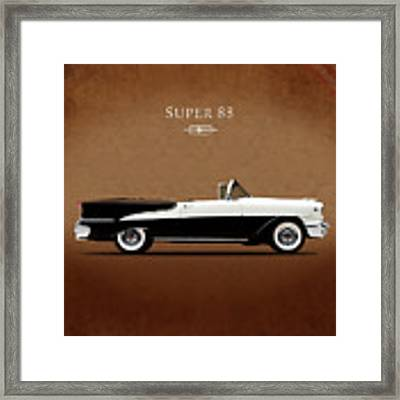 Oldsmobile Super 88 1955 Framed Print
