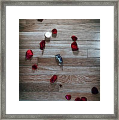 On Nature, Tragedy, And Beauty I Framed Print by Break The Silhouette