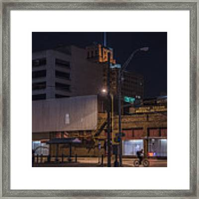 On The Move Framed Print by Break The Silhouette