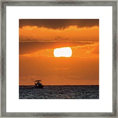On The Water Framed Print by David Buhler